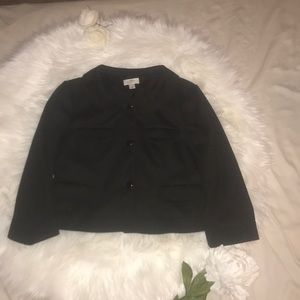 Loft Chanel type black jacket